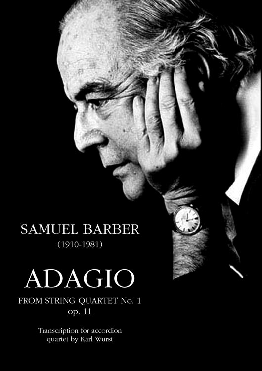 samuel barber Samuel osborne barber (march 9, 1910–january 23, 1981) was an american composer of classical music, best known for his adagio for strings he was born in west chester, pennsylvania and began to compose at the age of seven.